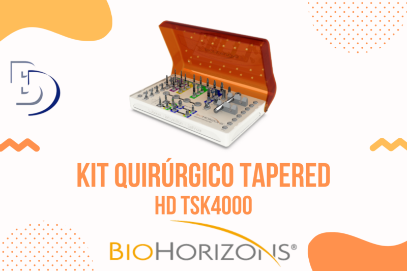 Kit Quirúrgico Tapered  HD TSK4000